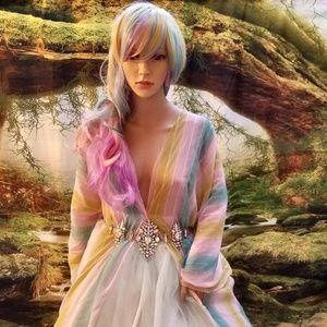 KIKO Japanese Kimono Inspired Wedding Ballgown Set